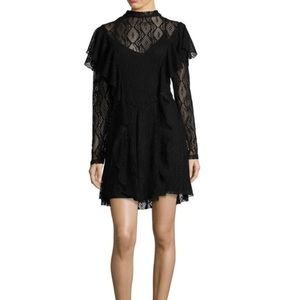 NWT FREE PEOPLE rock candy lace long sleeve dress